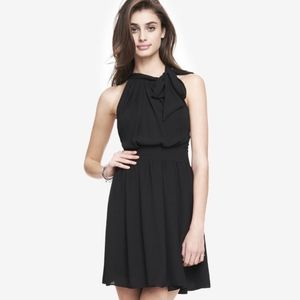 Express Tie-Neck Dress